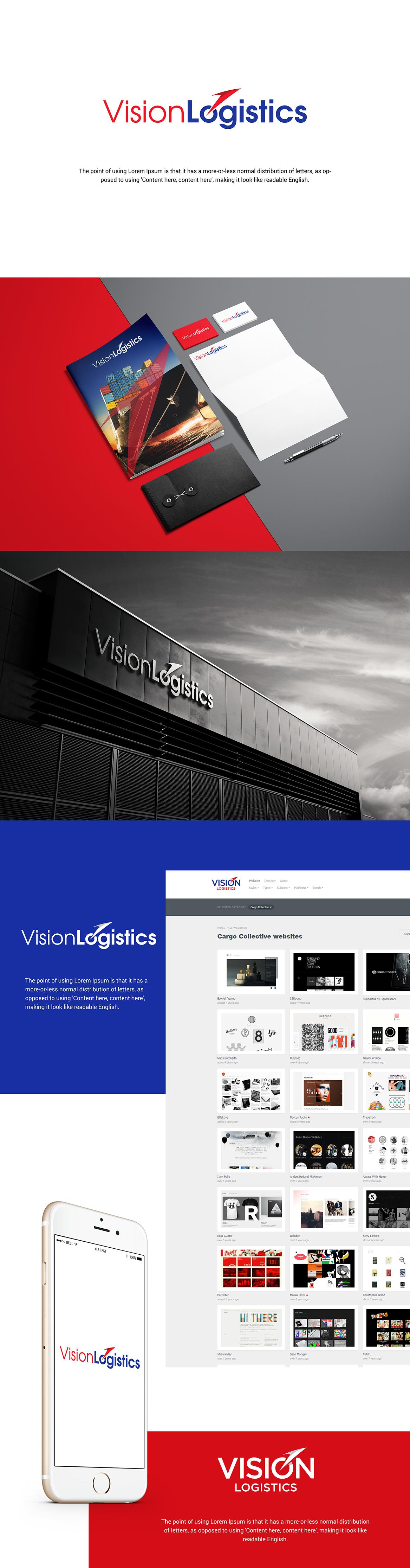 artcore-creative-vision-logistics-logo-identity-design